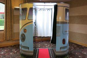 photo booth with van design