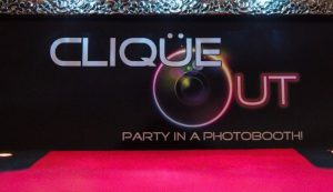 Clique Out Photo Booth Hire Logo