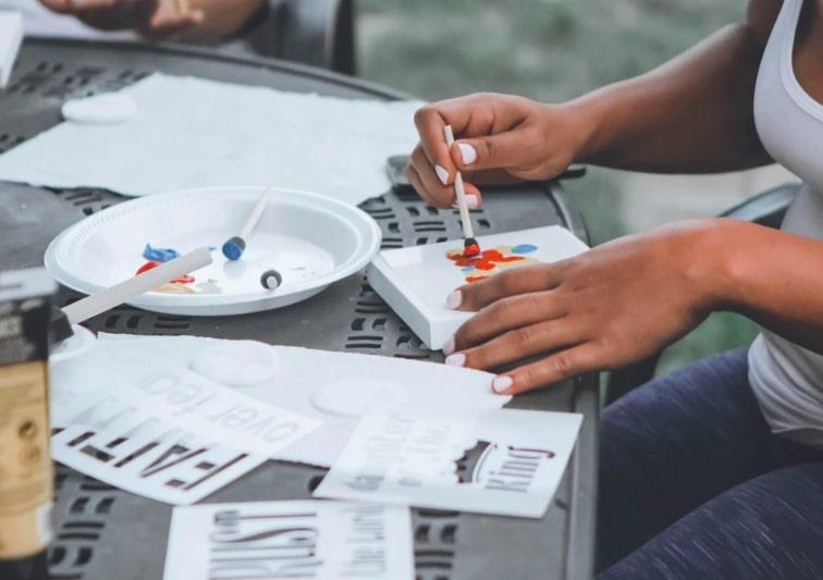 DIY Crafts Table