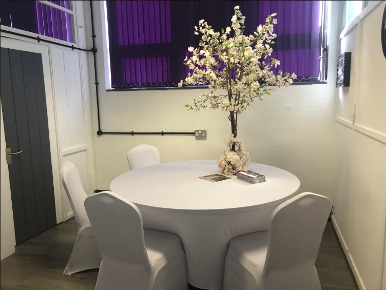 Event Table & Centerpiece Norwich Showroom