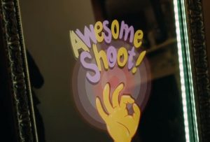 Magic Mirror photo booth for kids party