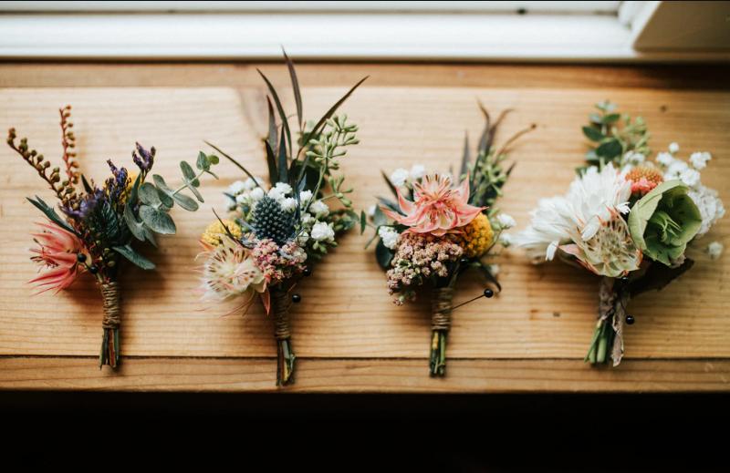 Nature-Inspired Spring Wedding