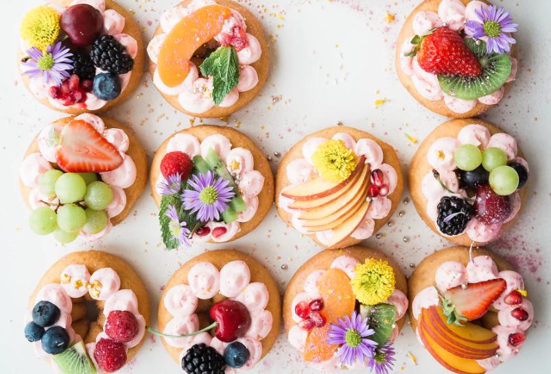 Spring Wedding Dessert