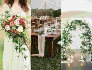rustic wedding elements