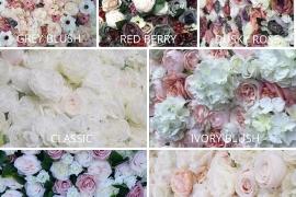 Flower Wall Hire Norwich